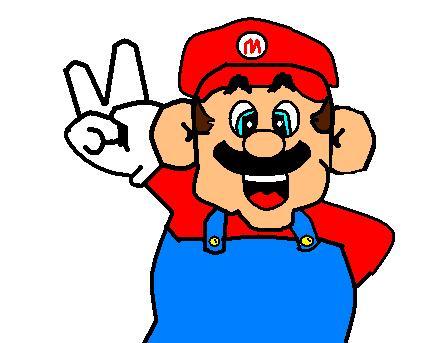 Mario bros paint