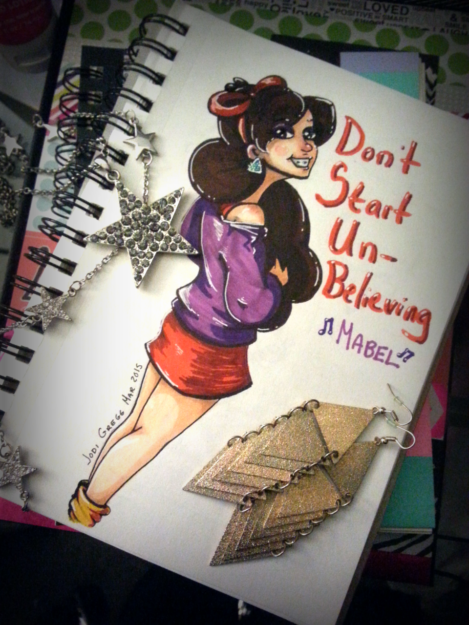 Don't Start Unbelieving, Mabel