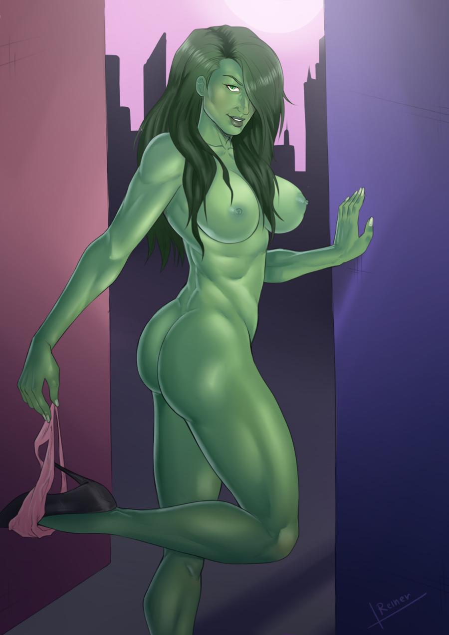 She Hulk pin up