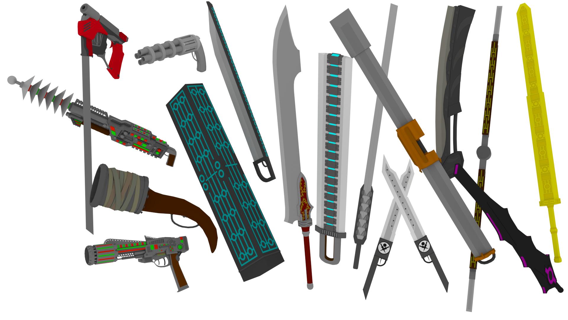 weapons wallpaper