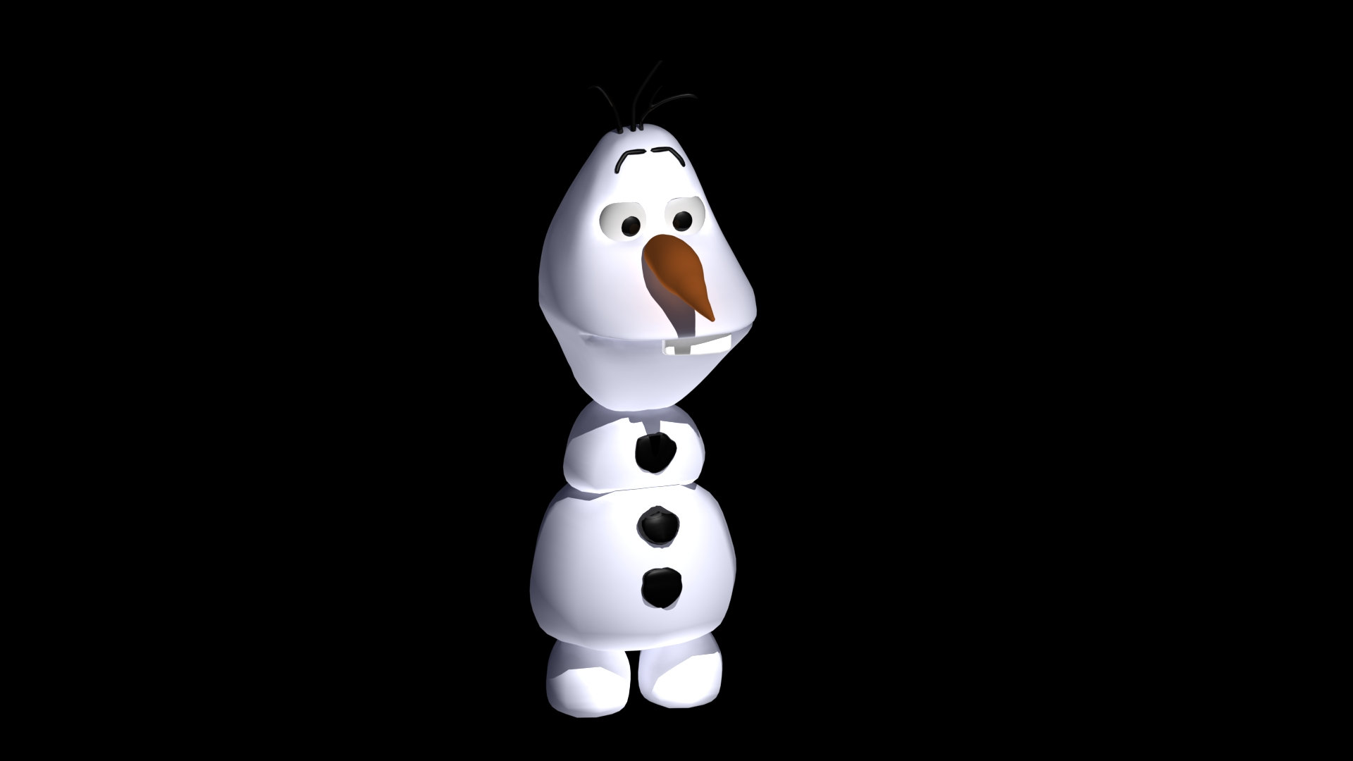 3D Modelling: Olaf