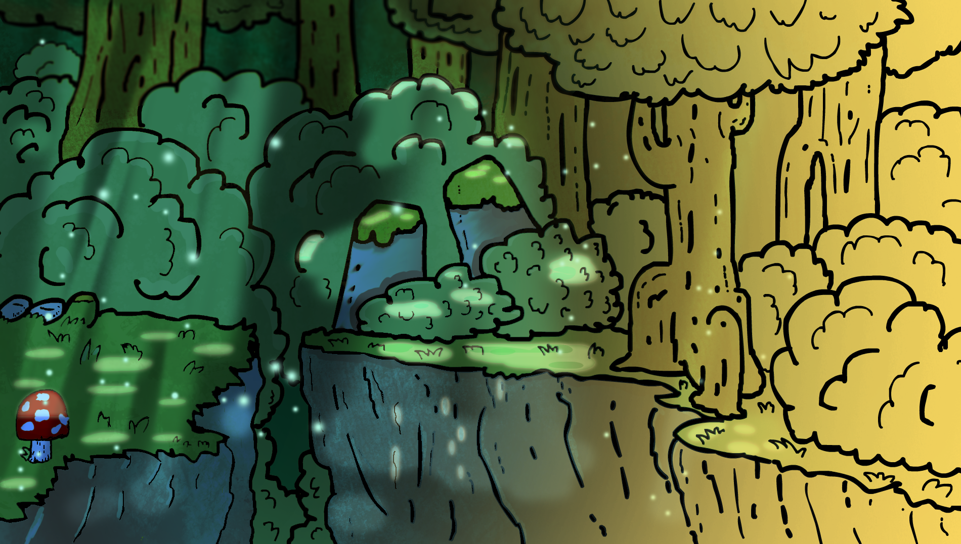 Overlay forest