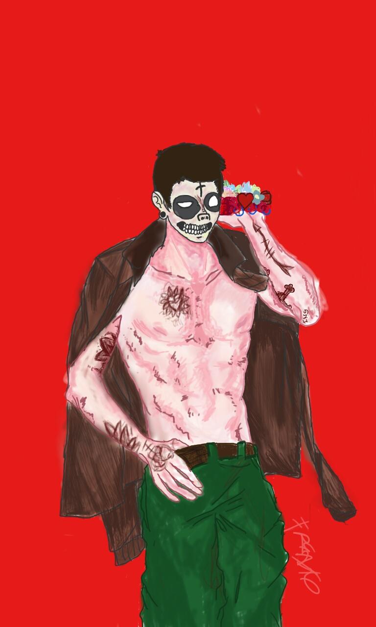 Yay shirtless skeleton