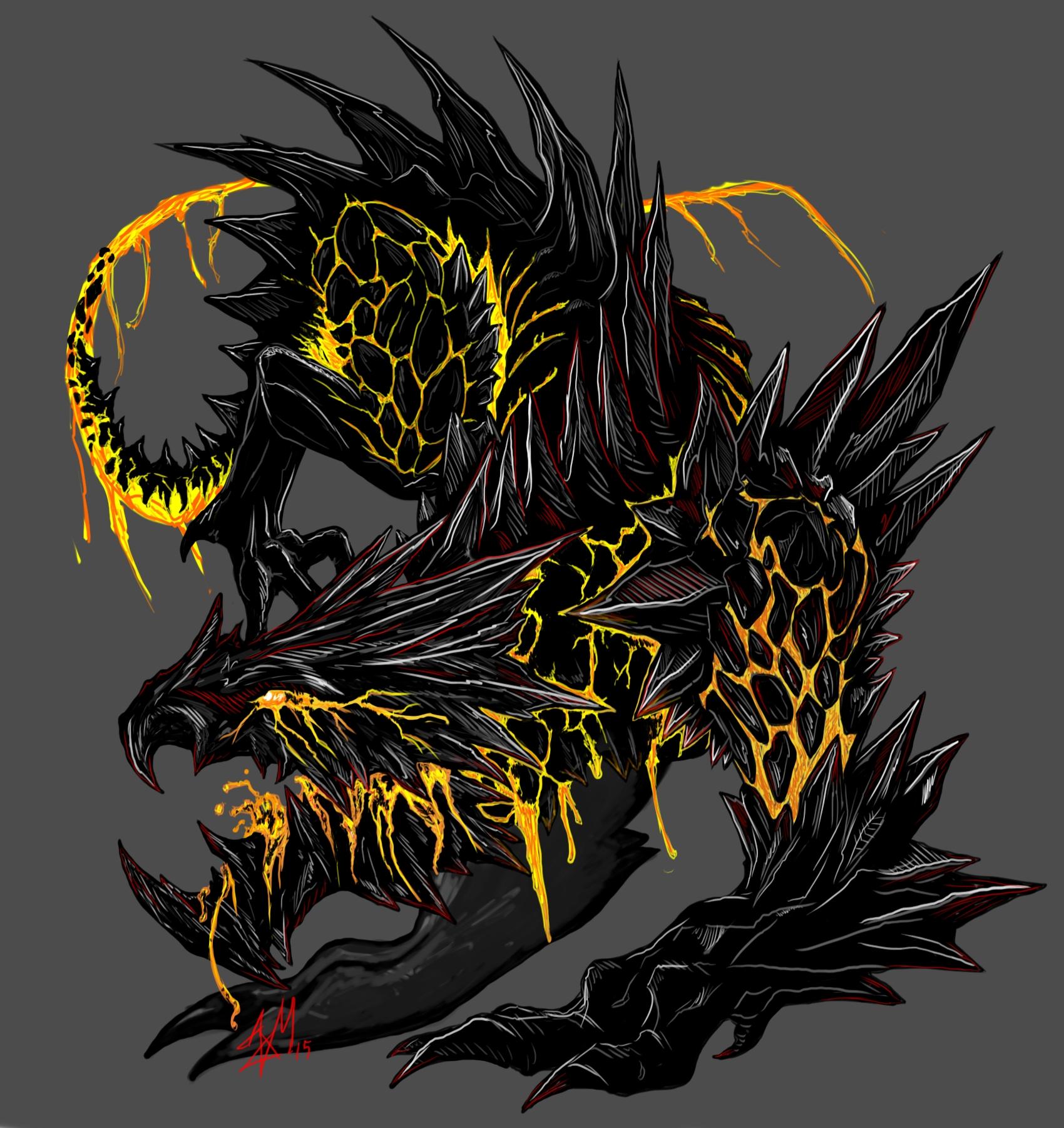 Brimstone Obsidian Beast