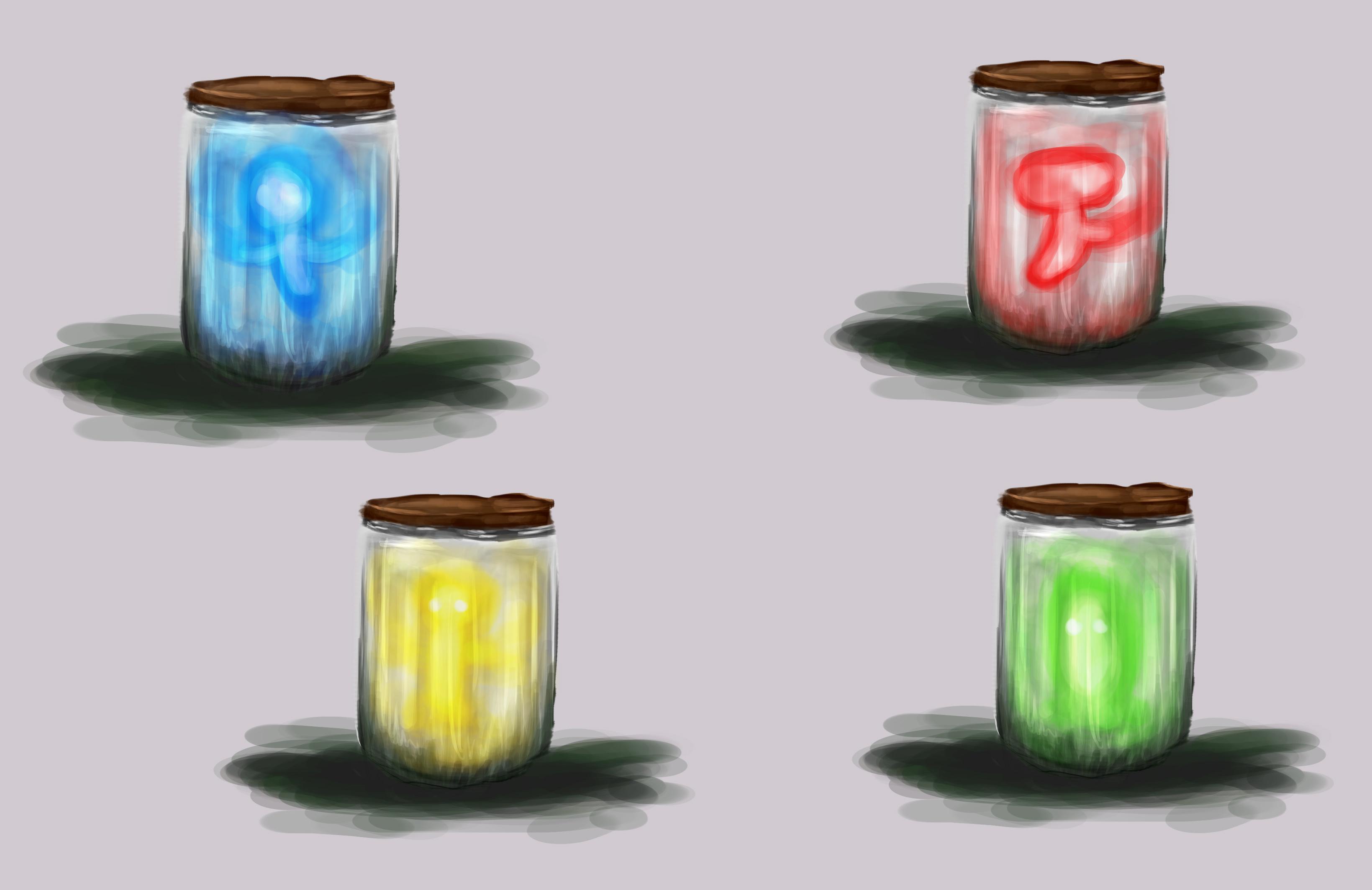 Concept art wisps characters 5