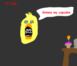 chica's cupcake