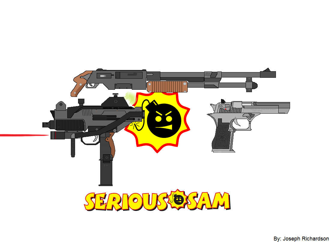 Serious Sam white