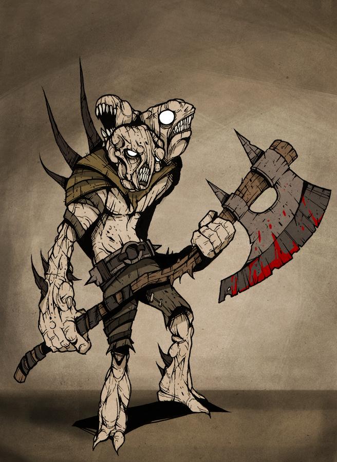 Deformed Axe Warrior