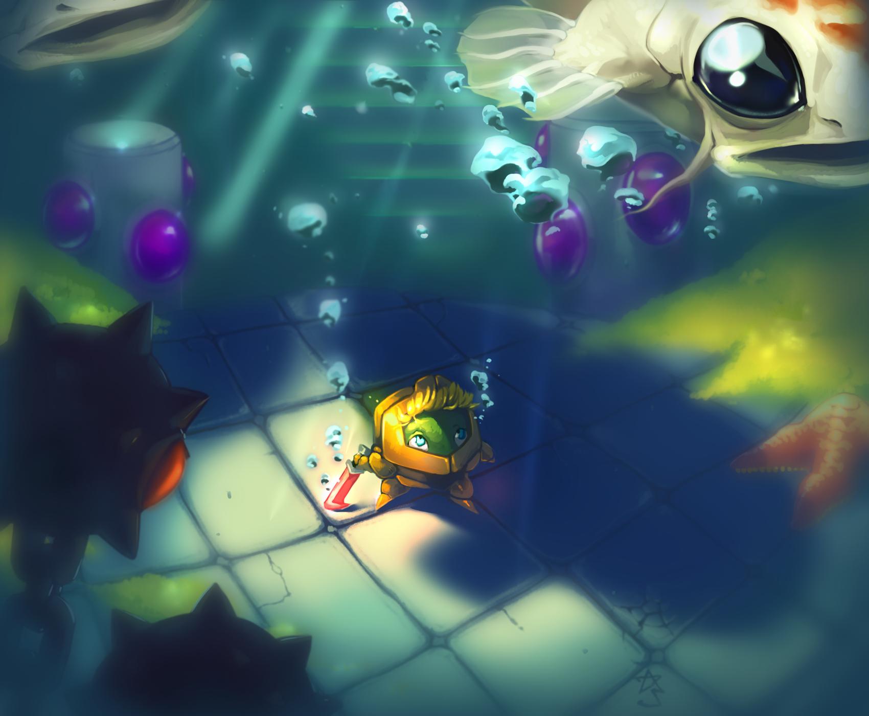 superchibiknight - koi gallery