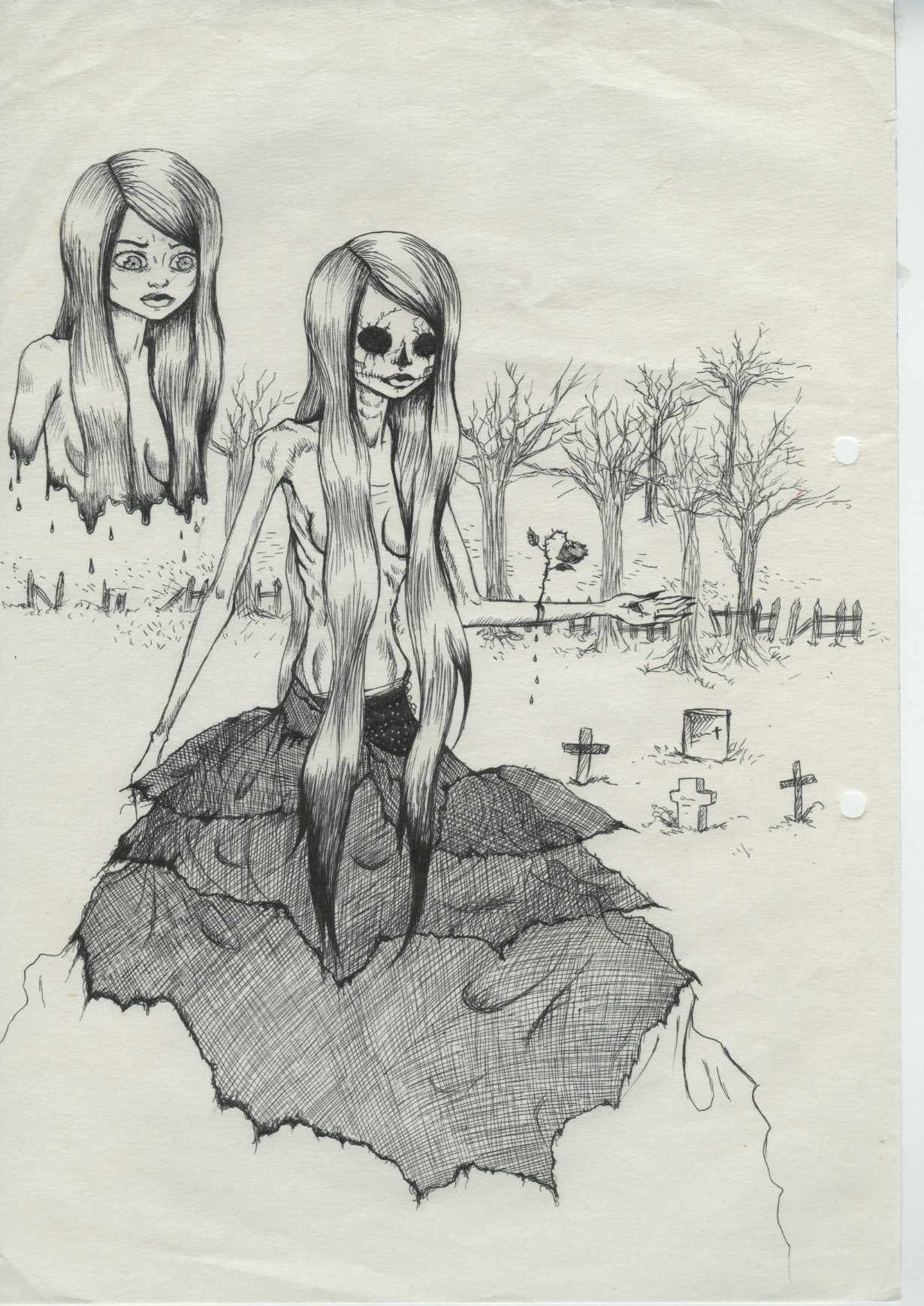 An old creepy sketch