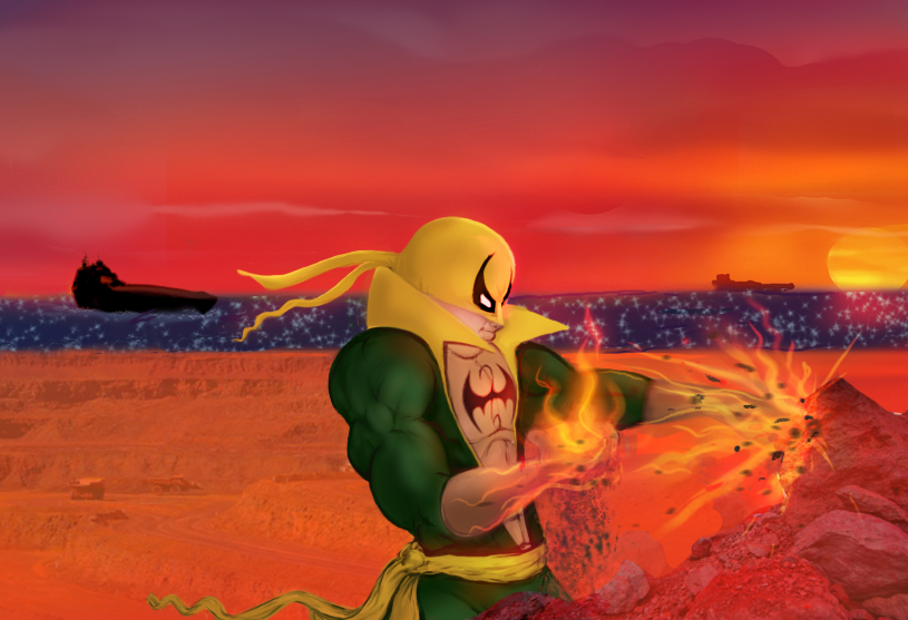 In 'ORE' of Iron Fist