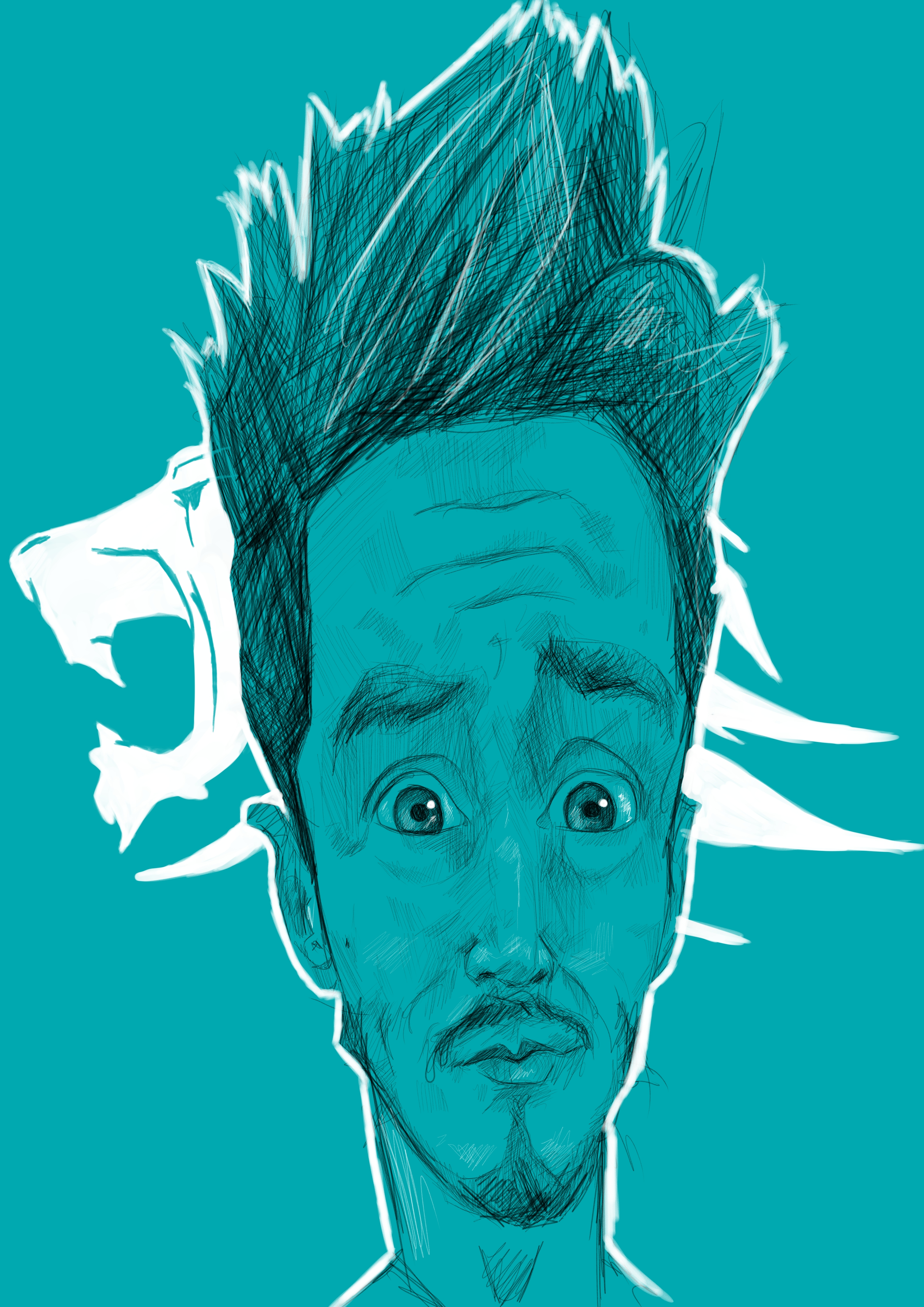 Tom Syndicate Caricature