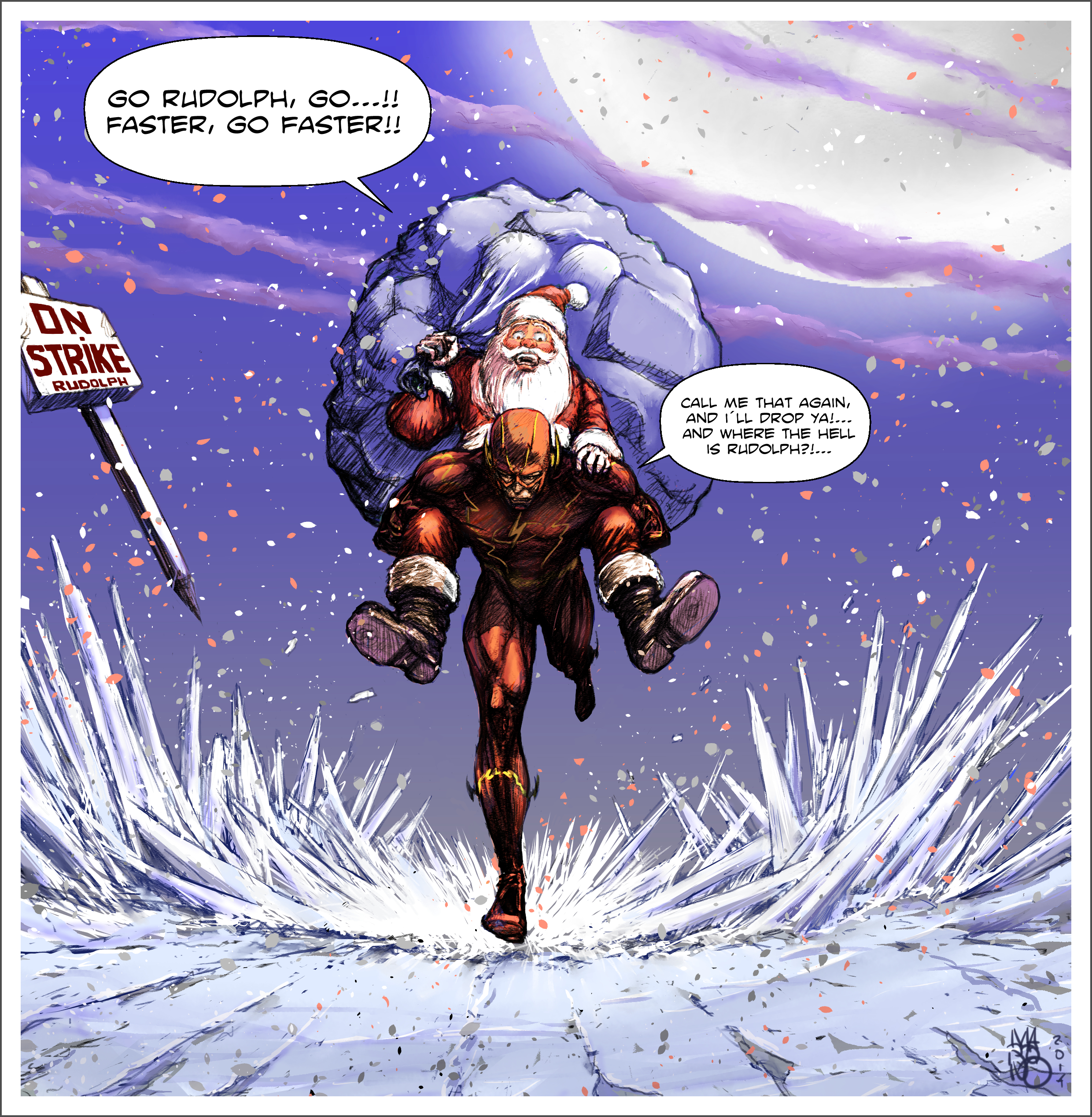 Merry Christmas Flash