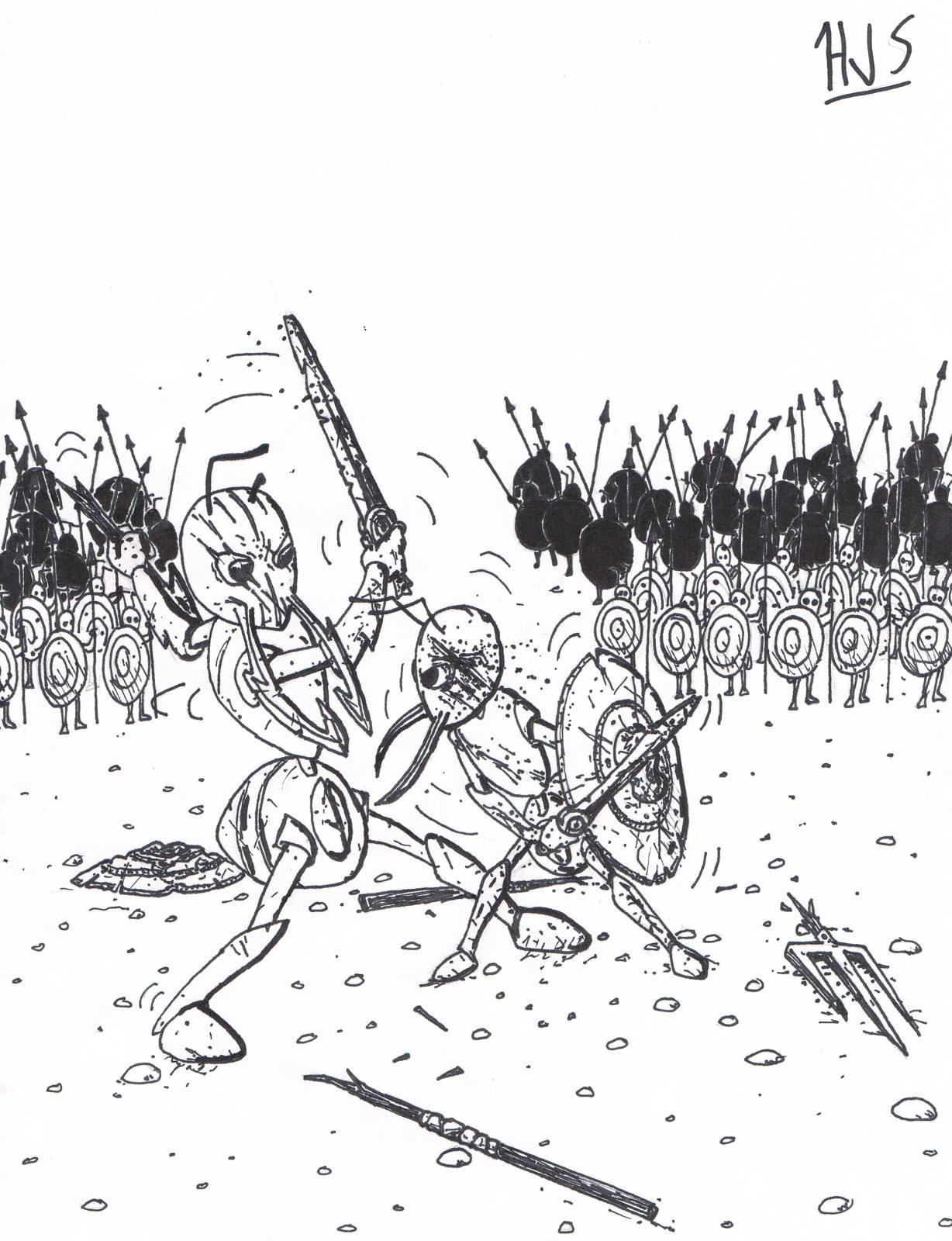 Ant Warriors