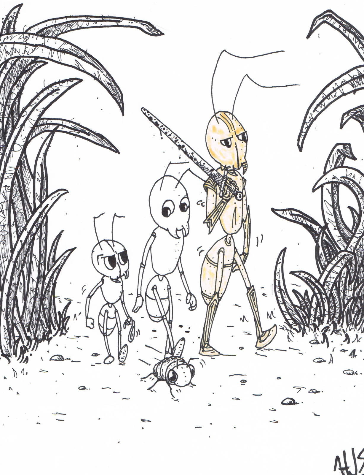 Ant Characters