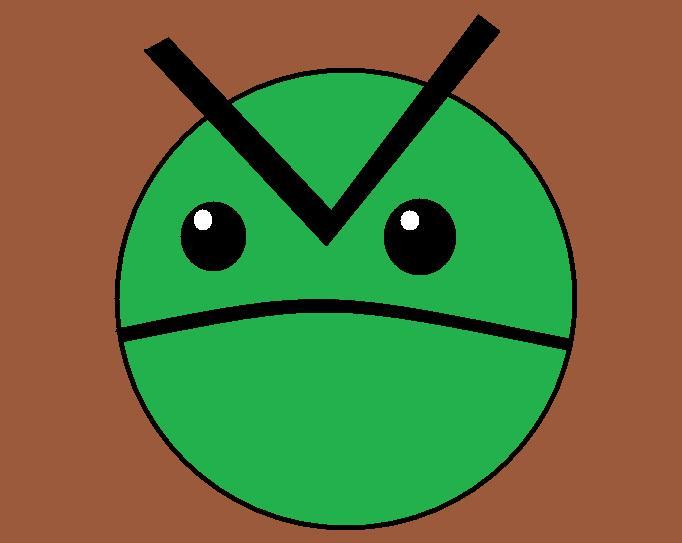 He's Green?!