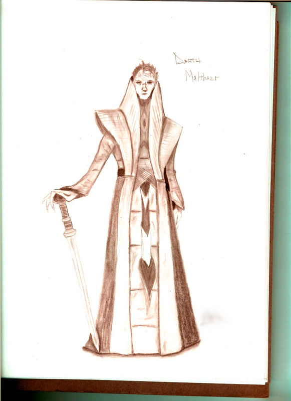 random Sith (pencil)