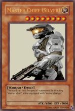 Master Chief Card