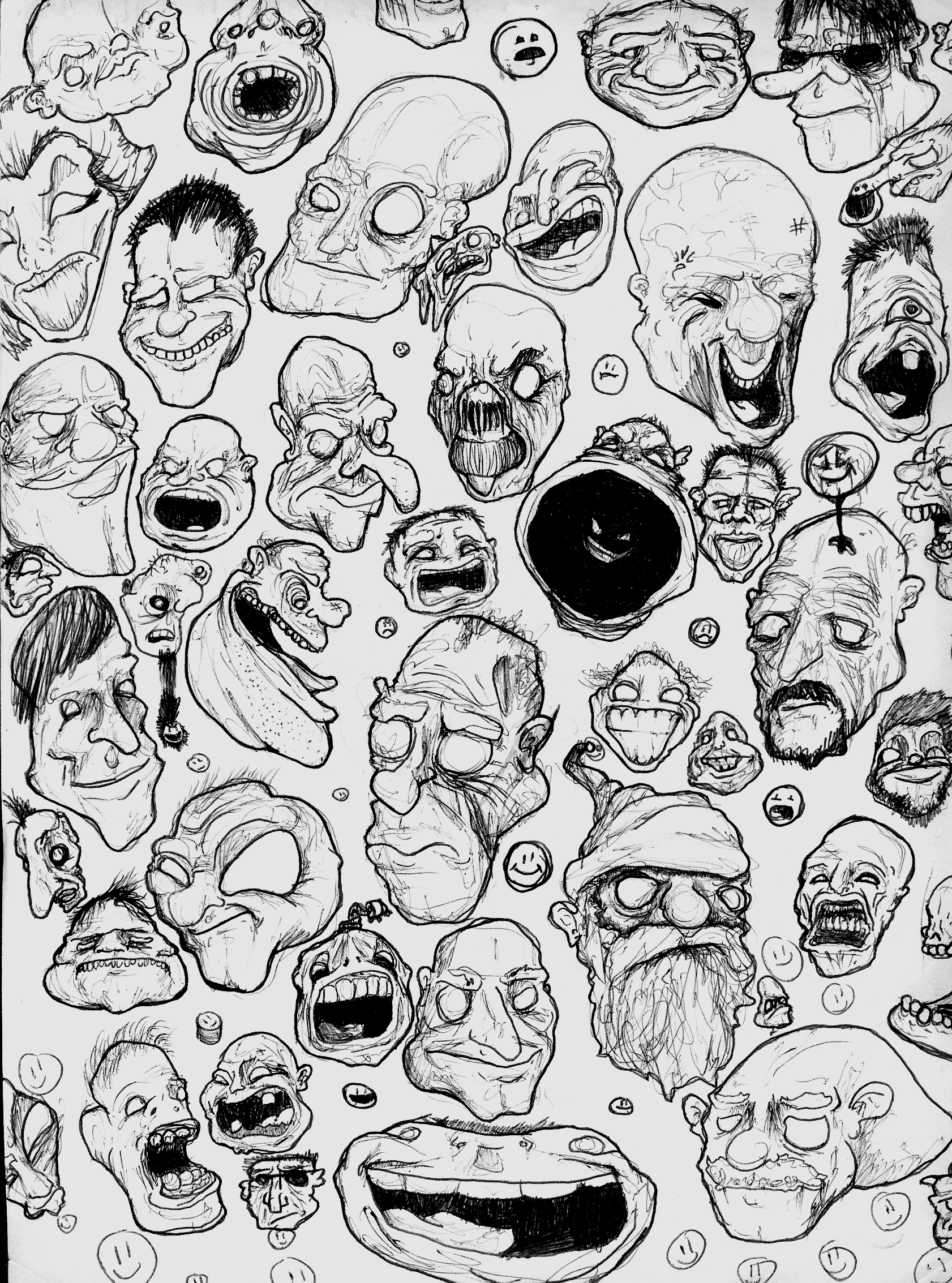 Lots O' Faces