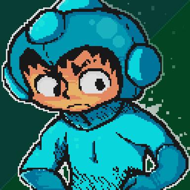 Megaman Pixelart