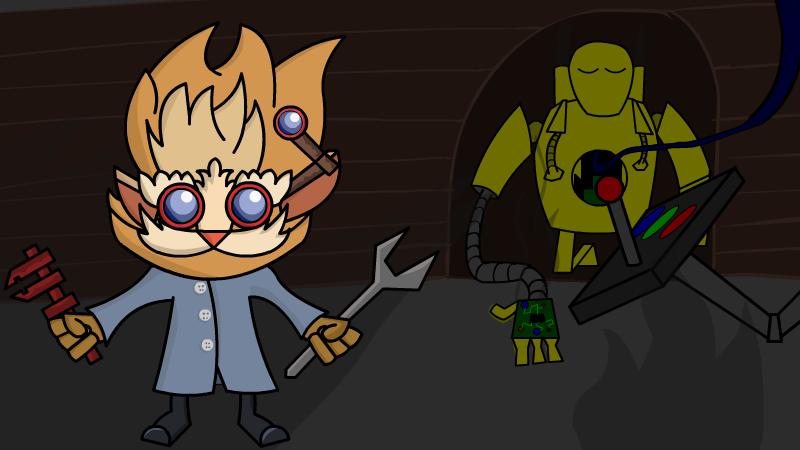 Heimerdinger and Blitzcrank