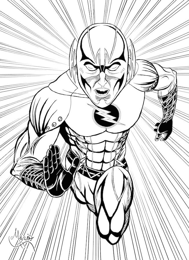 Reverse Flash Inked