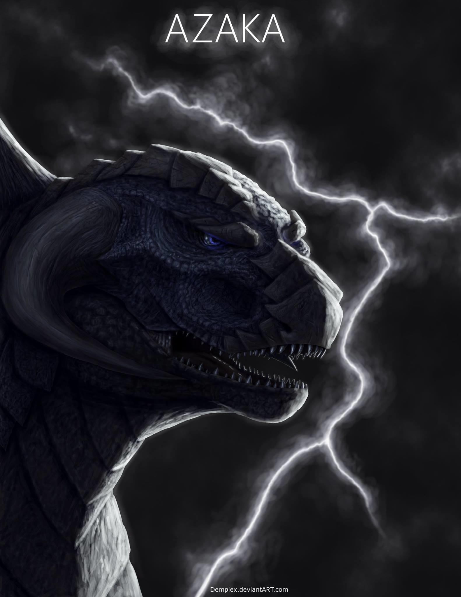Azaka - The Lightning Kaiju