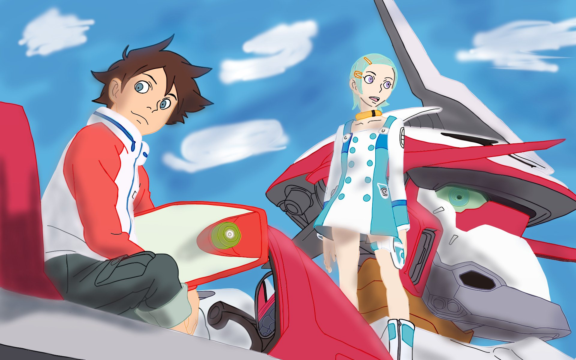 eureka seven fan art