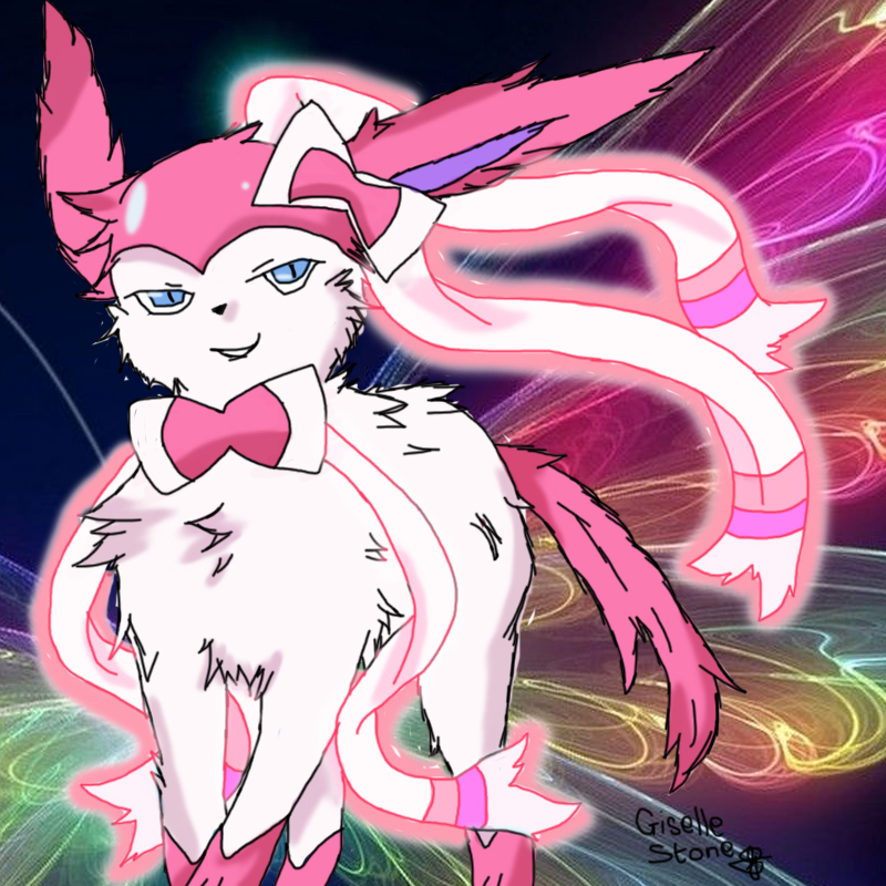 Sylveon fan art