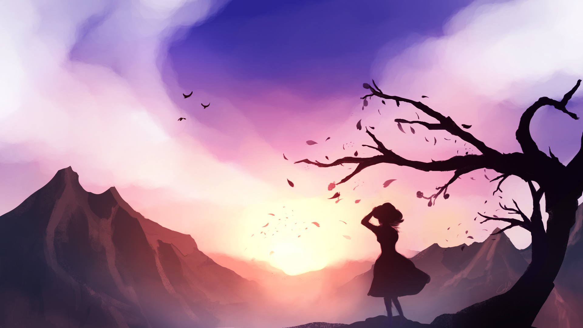 As the Wind Flows