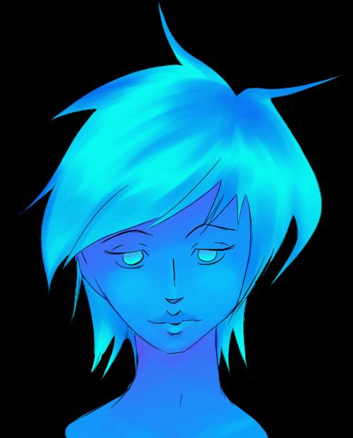 Blue Girl WIP
