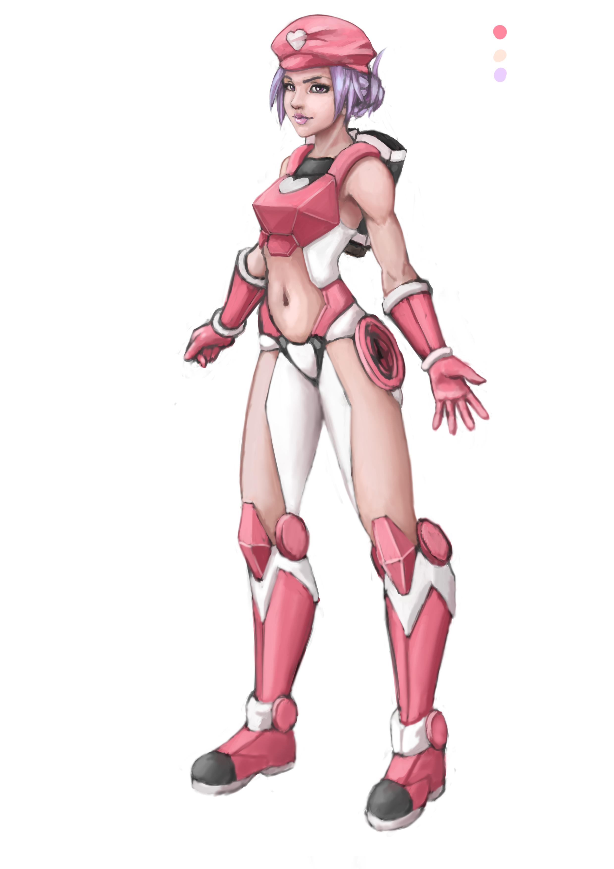 OC - Ame Kaminari - v. sci-fi