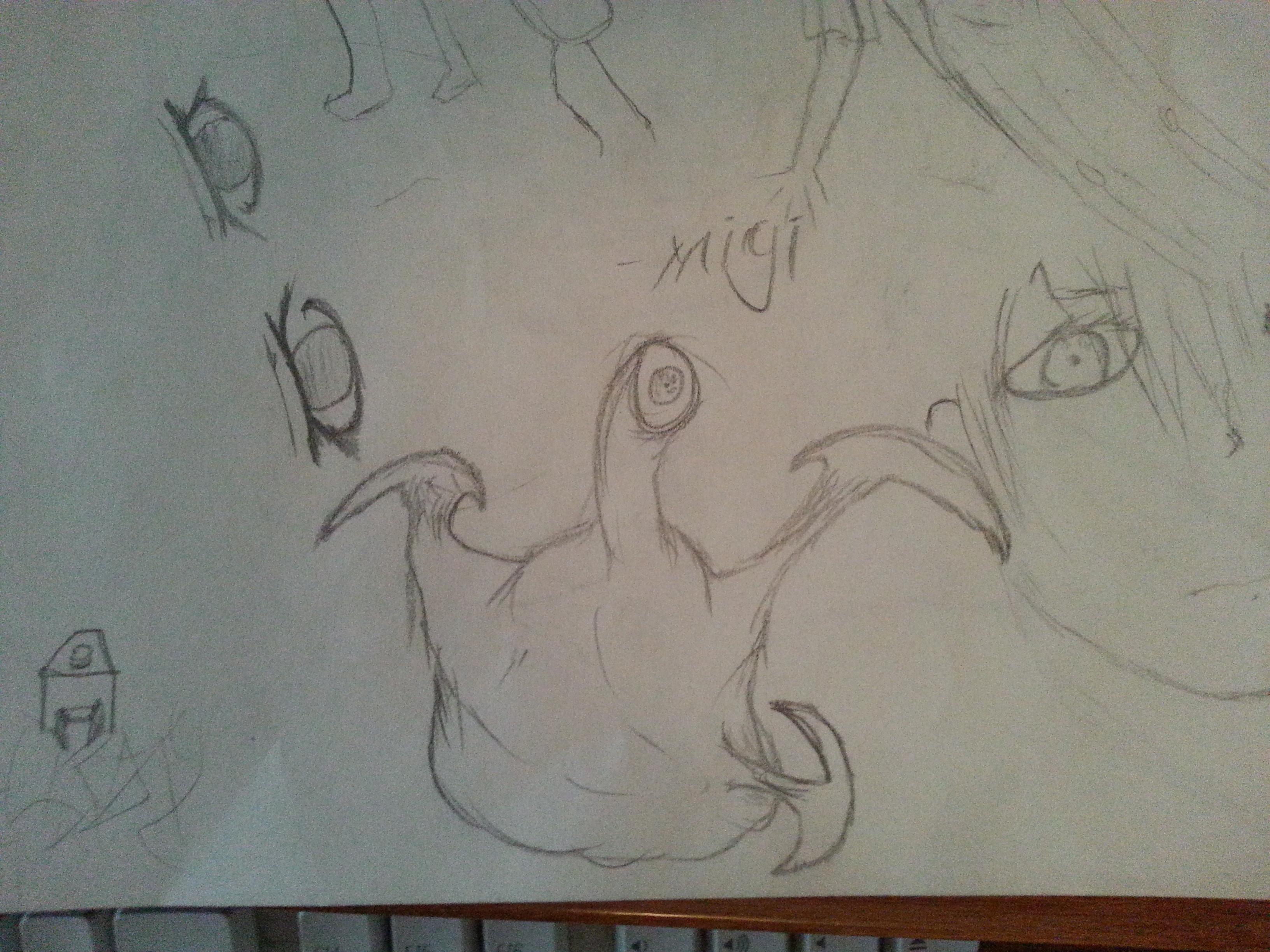 Migi from parasyte- the maxim