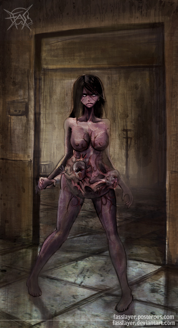 Zombie Pregnant