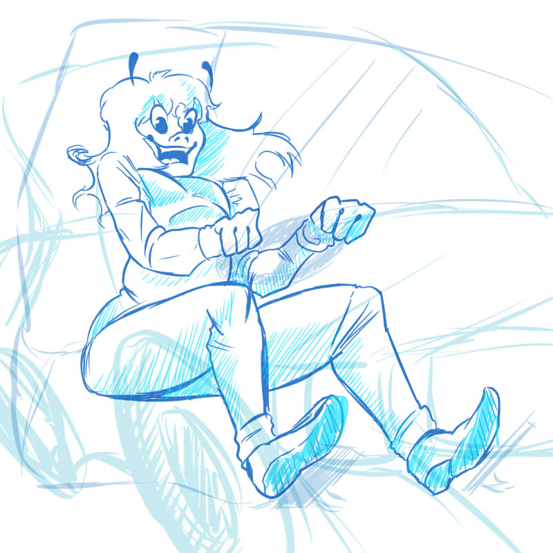 Sketch: test drive