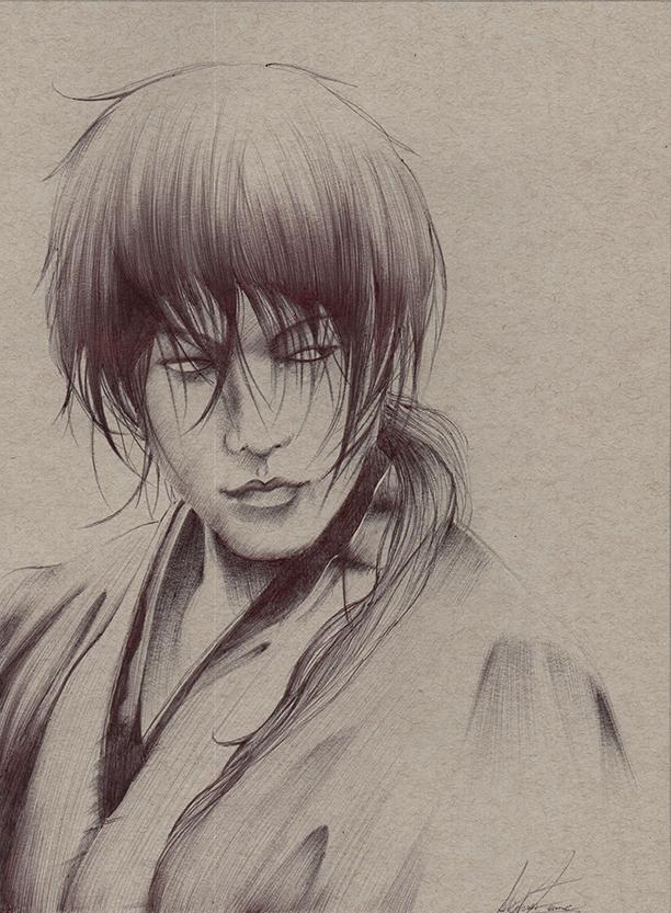 Kenshin- Ballpoint Pen