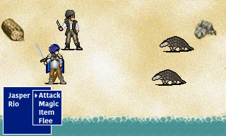 Random Battle Mockup