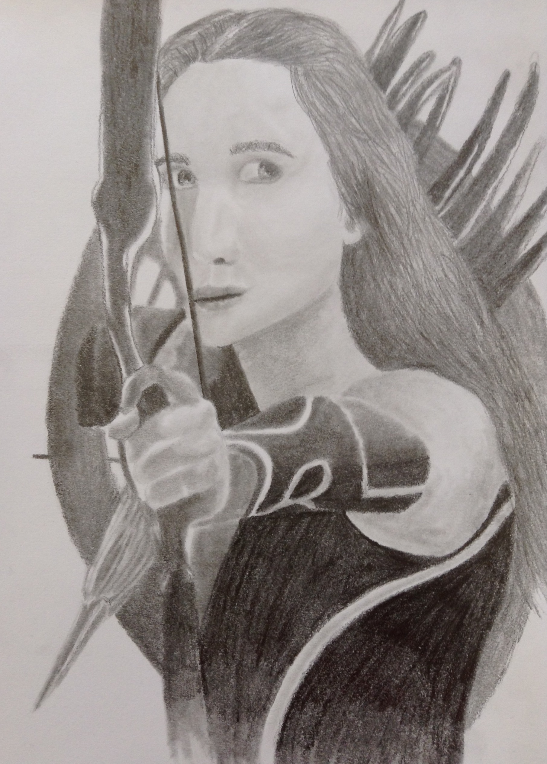 Katniss Everdeen graphite