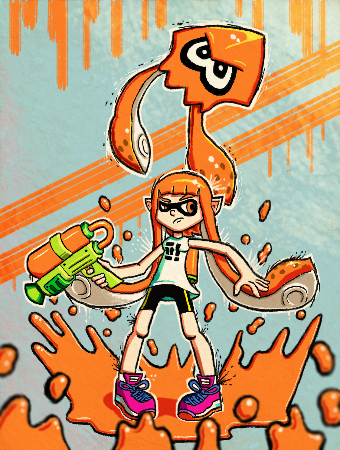 Splatoon Fan Art