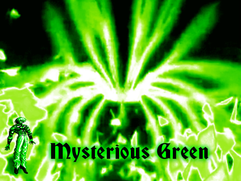 Mysterious Green