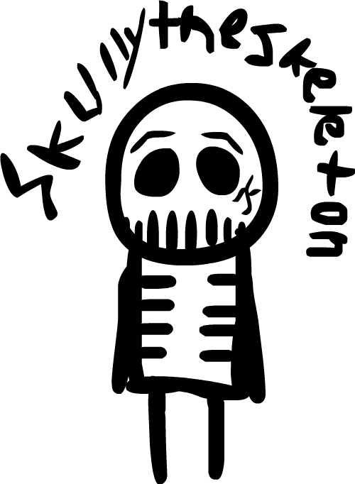 Skully the skeleton