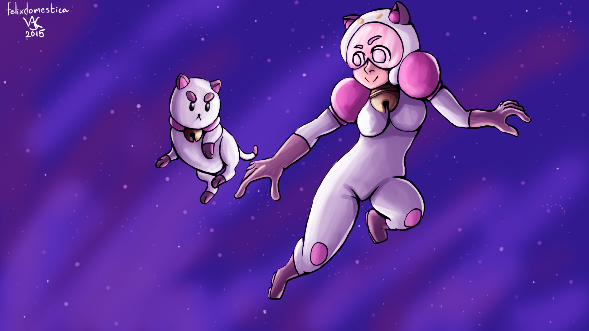 Bee and Puppycat fanart