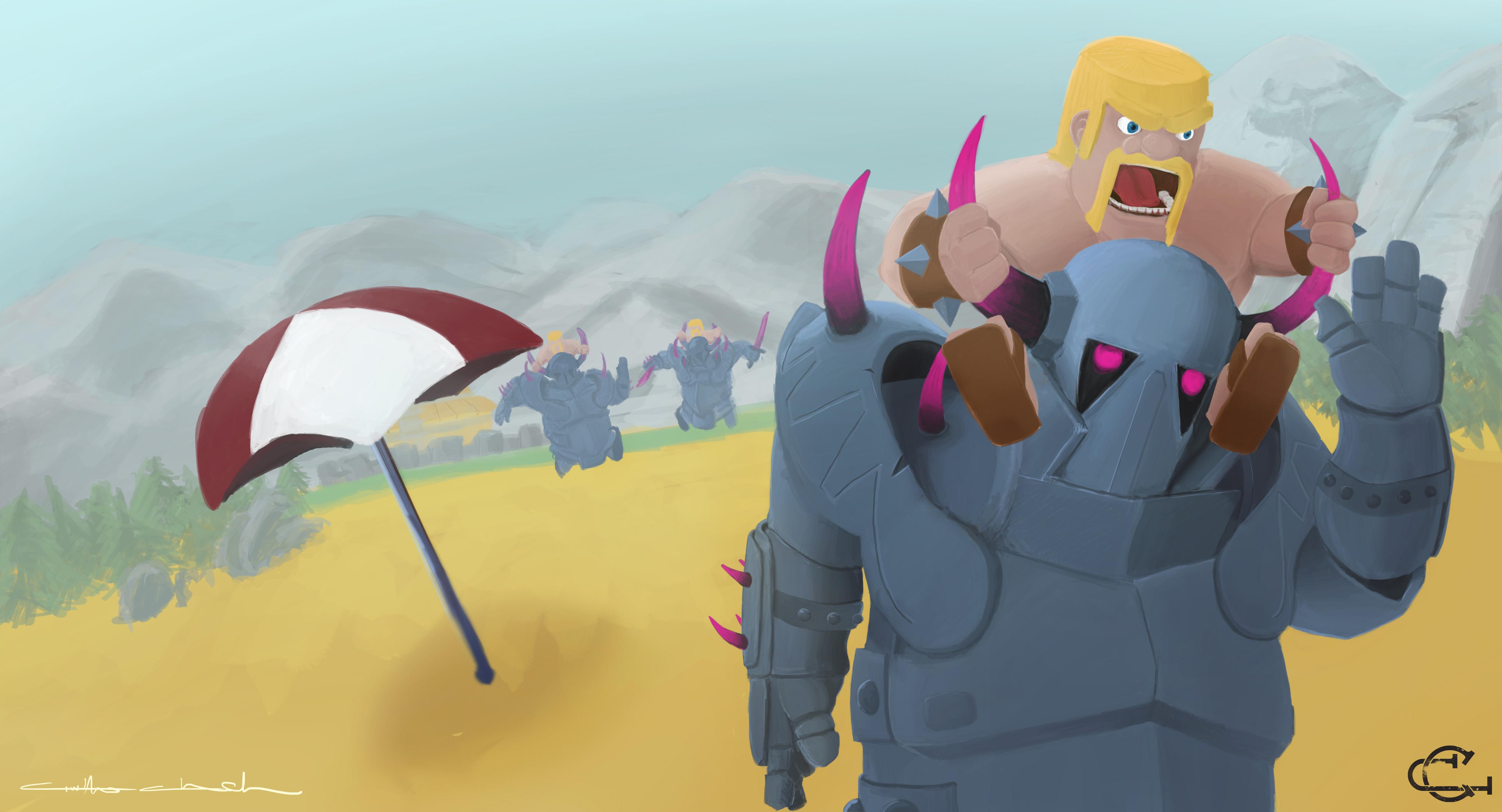 CoC - Barbarian Summer