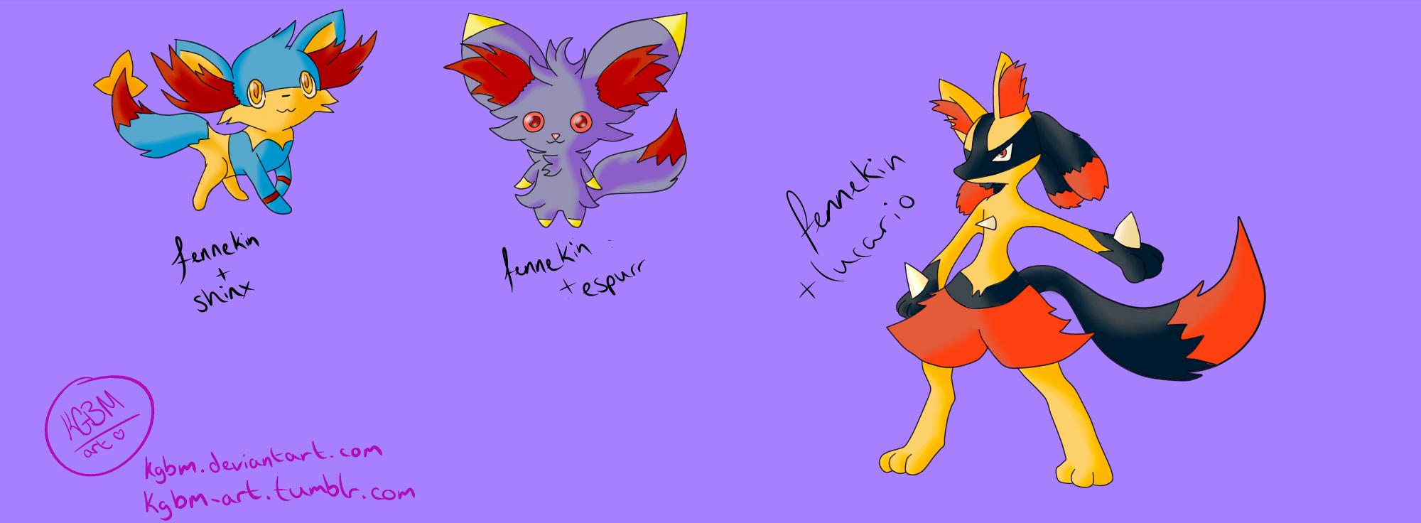 Fennekin Fusions