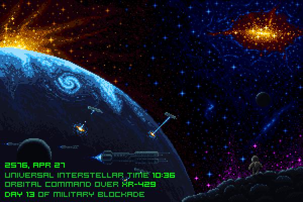 Space blockade