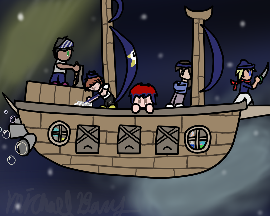 Chibi Drunkship Vineyard