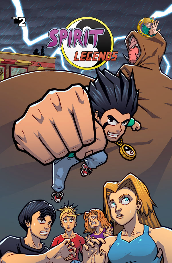 Spirit Legends - Ch 2 Cover