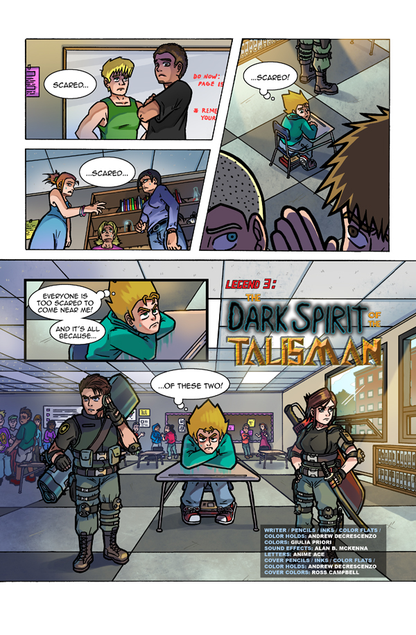 Spirit Legends - Ch 3 Pg 1