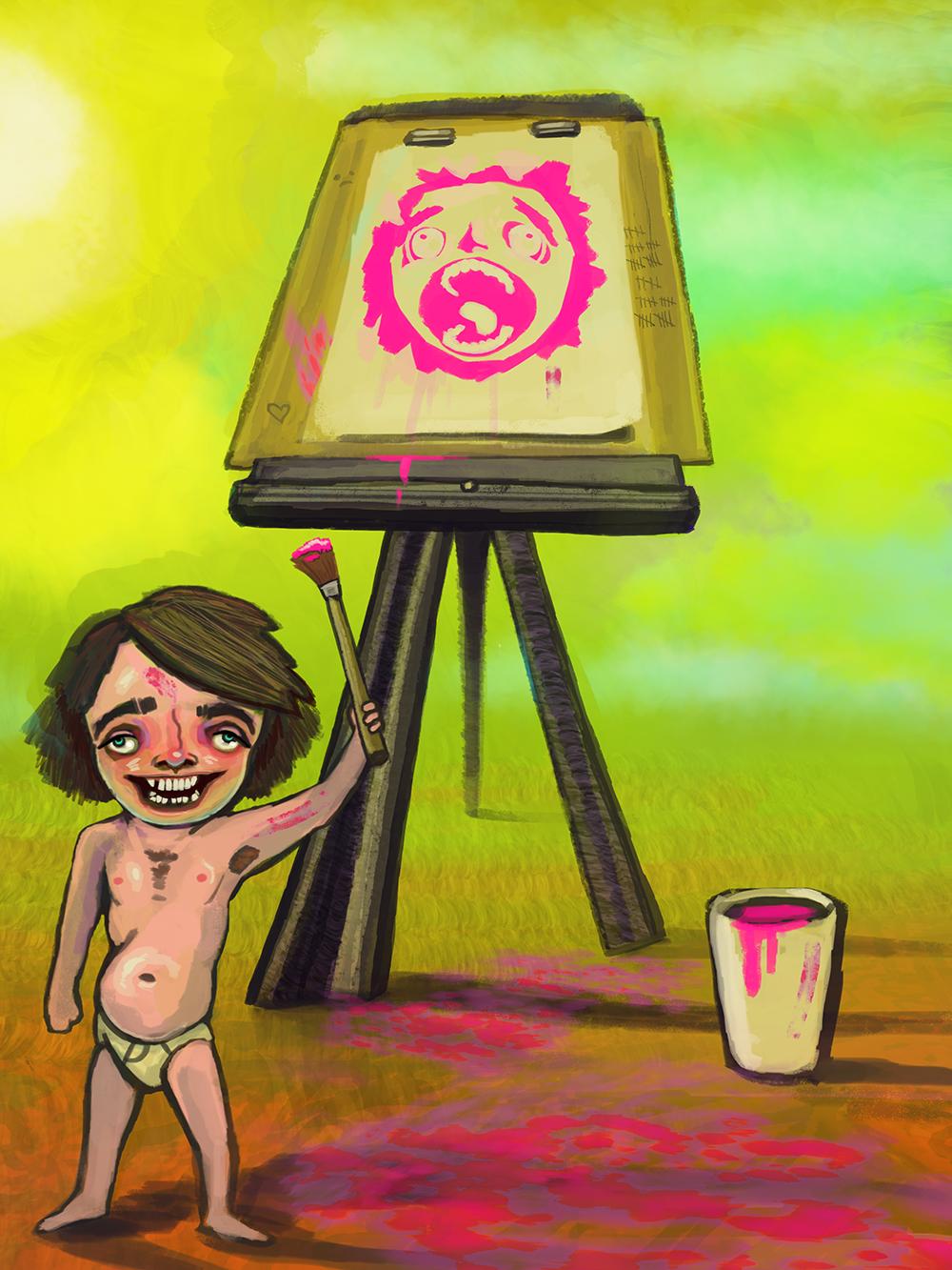 Stupid Painter