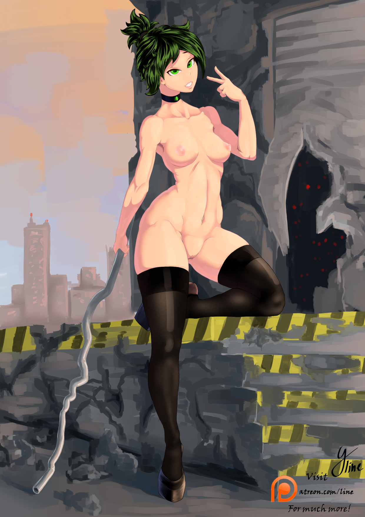 Ryuuko pin-up nude